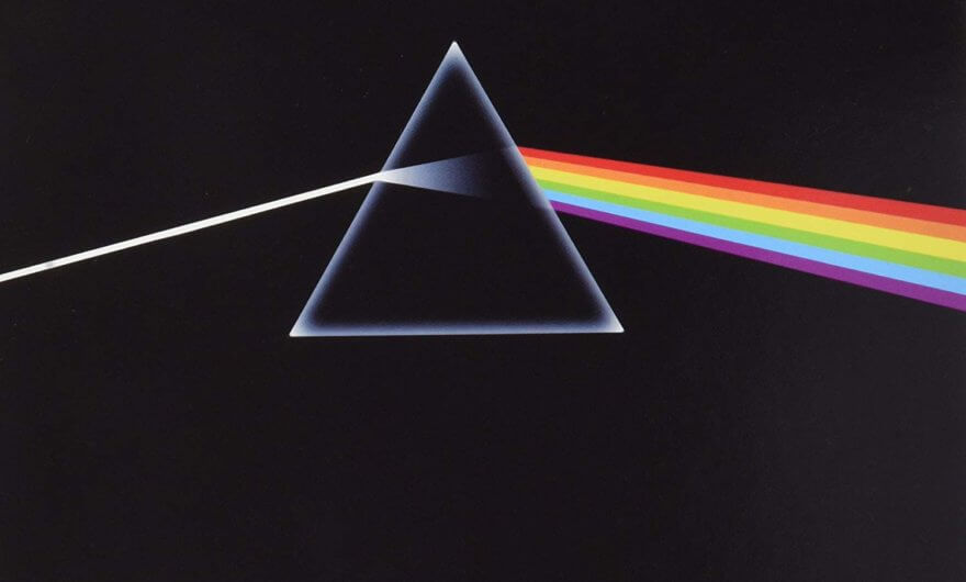 Potada del disco The Dark side of the moon de Pink Floyd