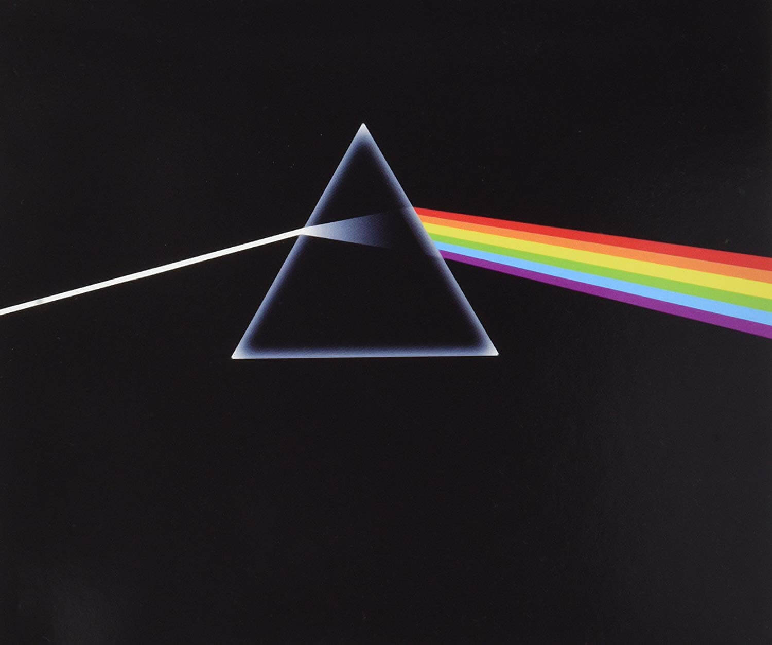 Potada del disco The Dark side of the moon de Pink Floyd