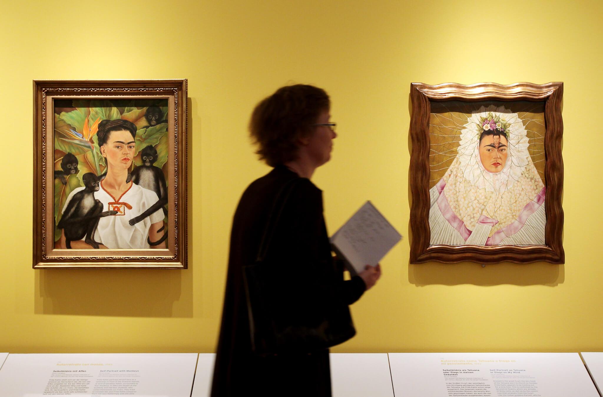 Exposición de Frida Kahlo en Alemania