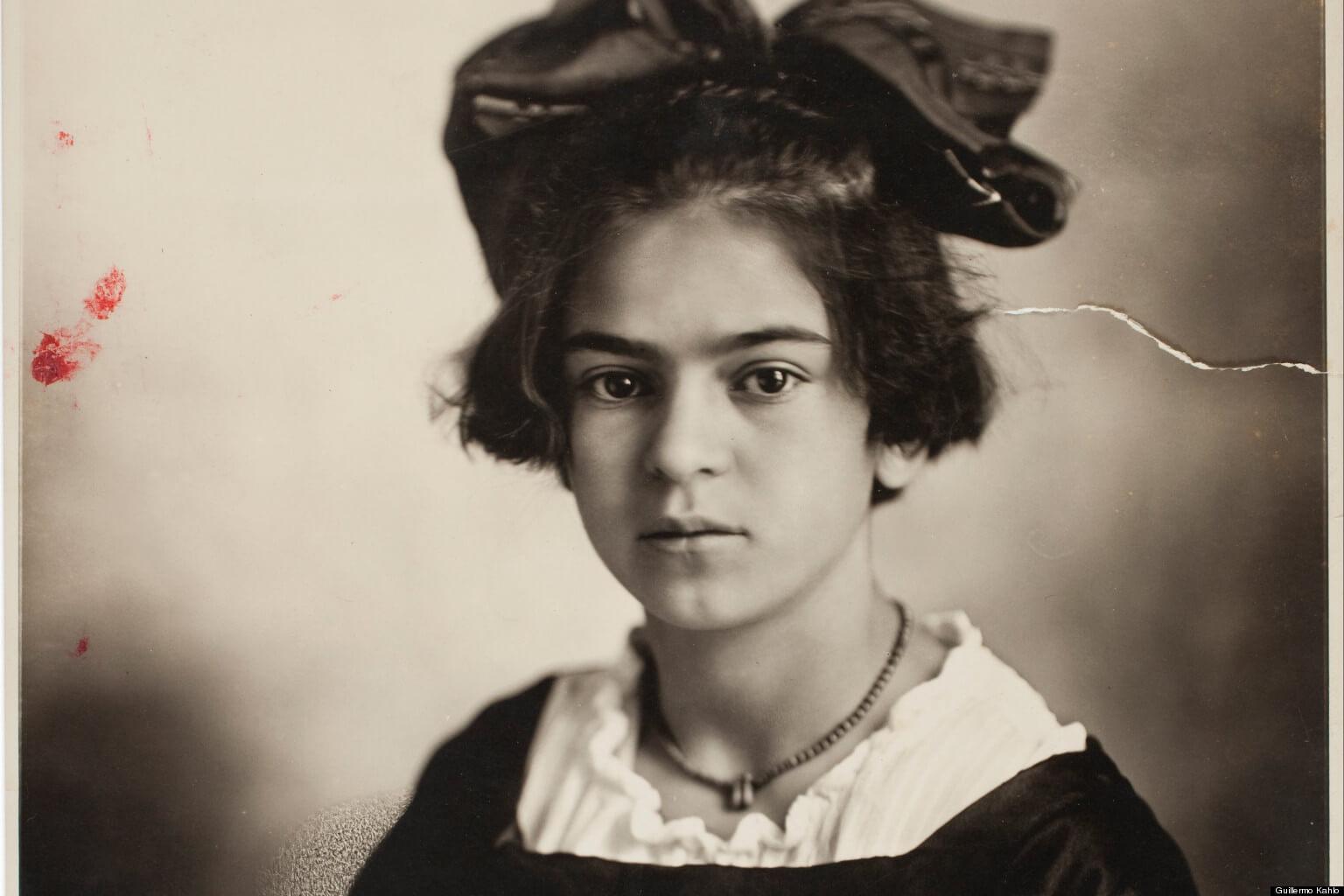 Fotografía de Frida Kahlo niña