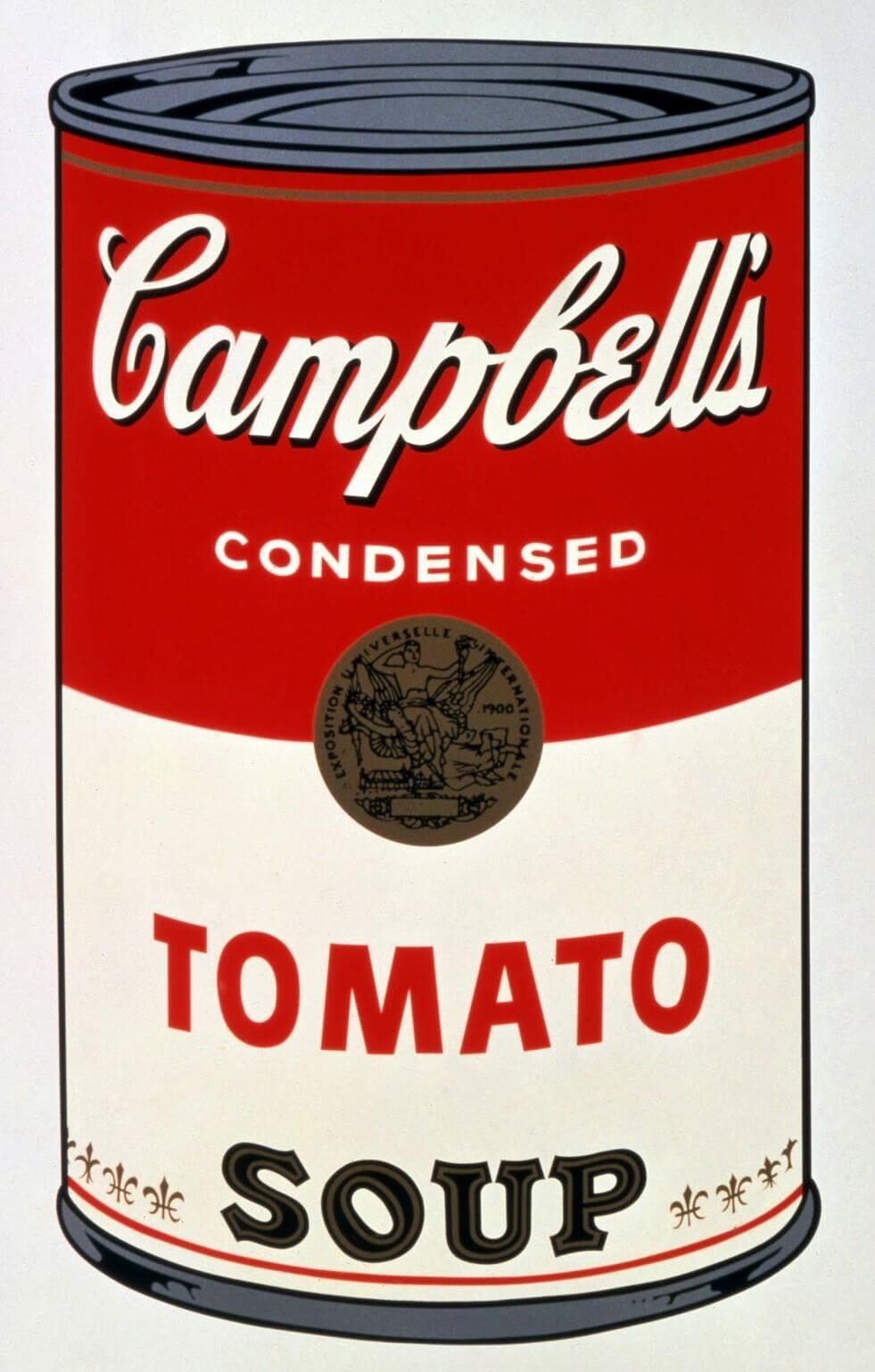 Lata de sopa Campbell's