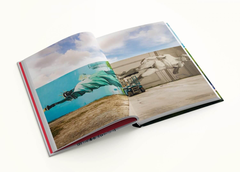 Libro del artista italiano OZMO 1998
