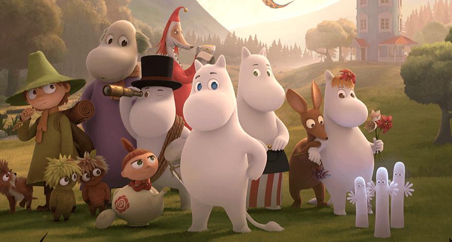 Los Moomin regresan a la TV en 2019
