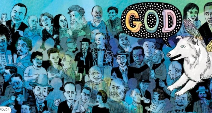 Matthew Thurber reinterpreta el mundo del arte a través del cómic