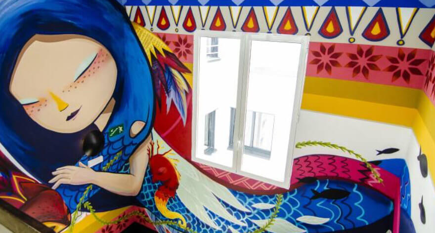 NYX Hotel Madrid dedicado al arte urbano