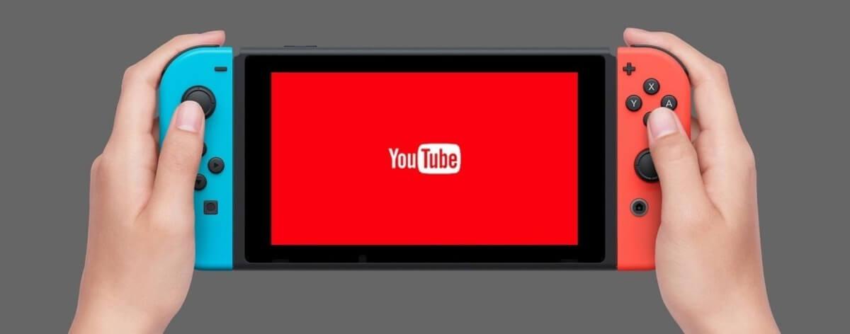 Nintendo Switch podría tener un app de Youtube