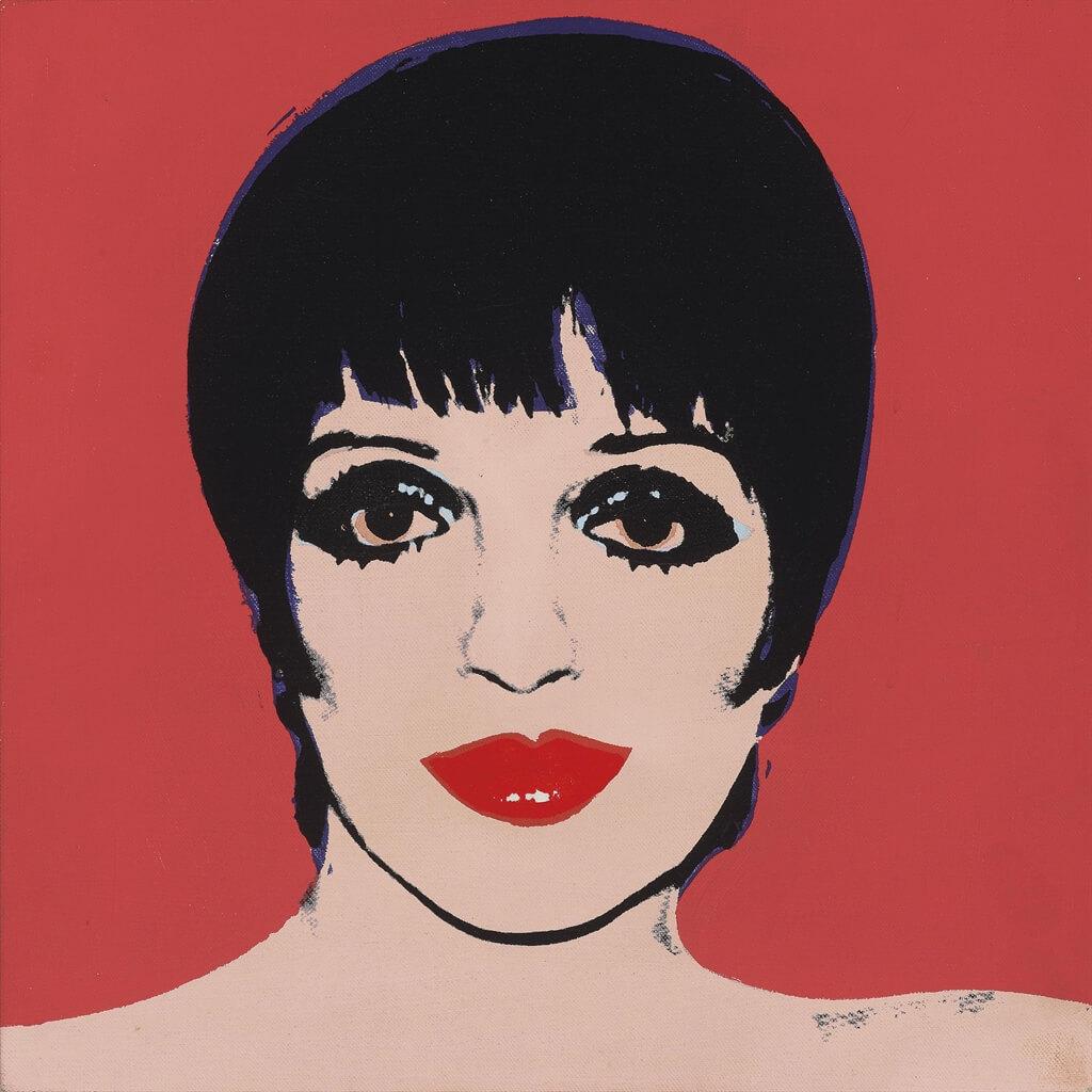 Retrato de Liza Minelli