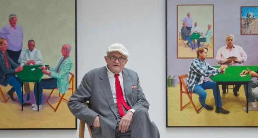 Obra de Hockney con influencia de Van Gogh