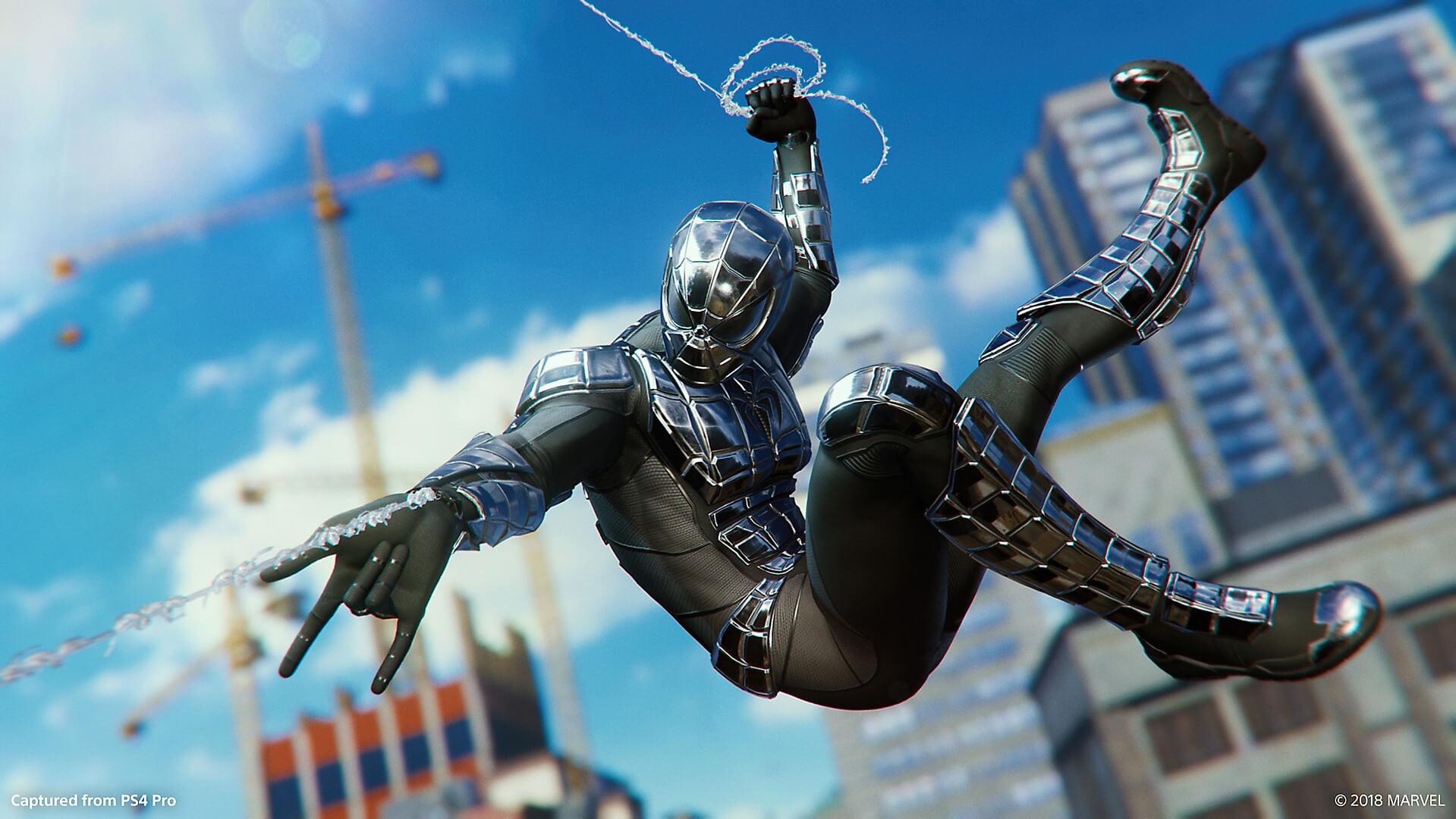 Nuevo traje en la segunda parte del videojuego de Spider-man