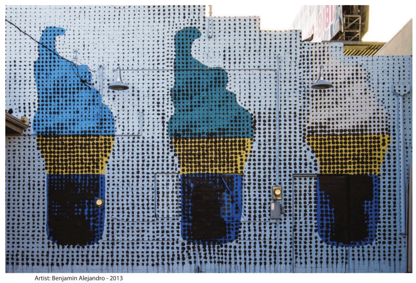 fotografía interior del libro Street Art Las Vegas