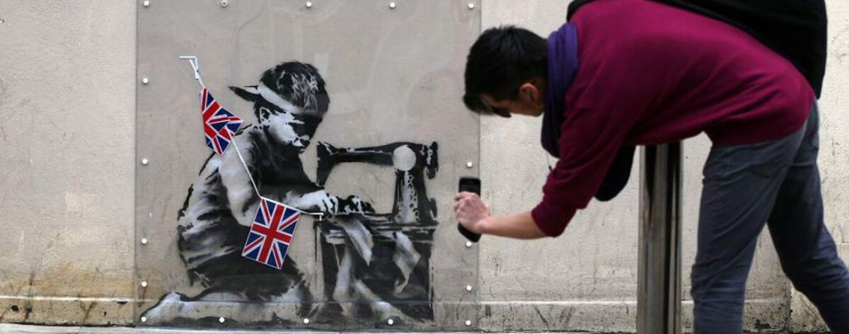 Ron English banksy-slave-labour