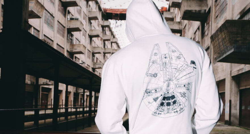 Star Wars y Billionaire Boys Club en colaboración especial