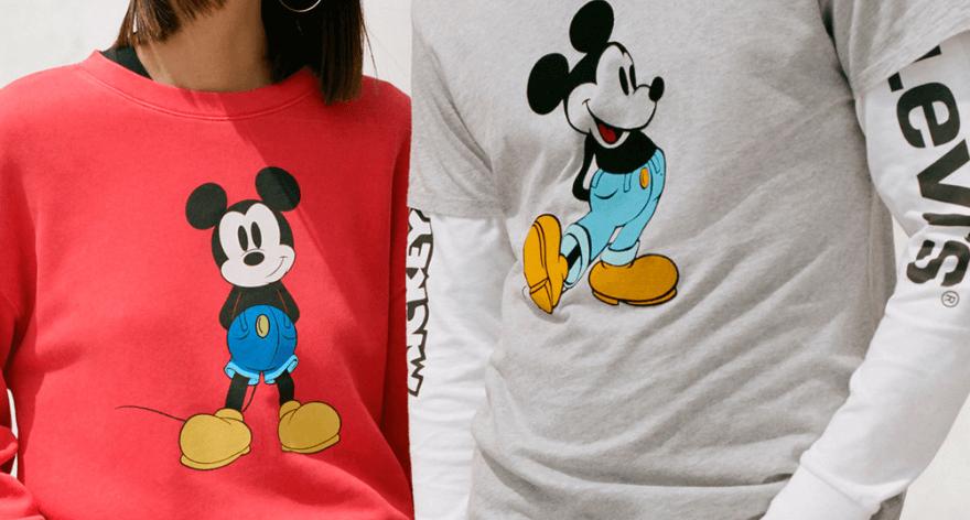 Mickey Mouse y Levi's celebran aniversario con una colaboración