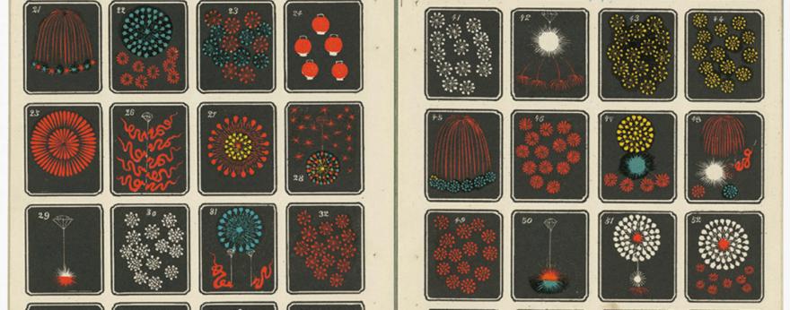Catálogos de fuegos artificiales del Siglo XX