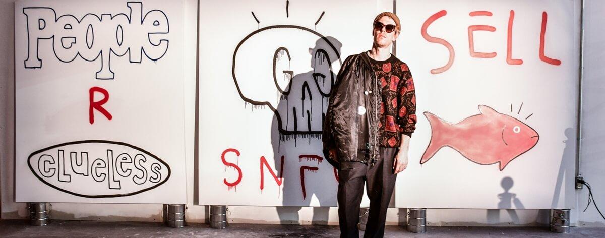 """GucciGhost y su nueva marca de streetwear """"Real Buy"""""""