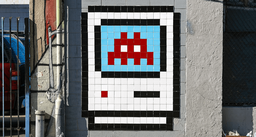 Invader presenta exposición en Los Ángeles