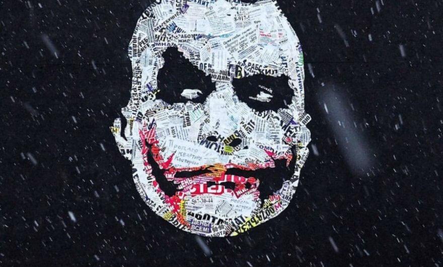 Mural Joker Batman
