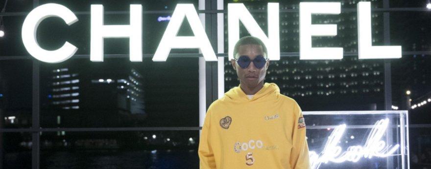 Chanel y Pharrell Williams se unen en nueva colección