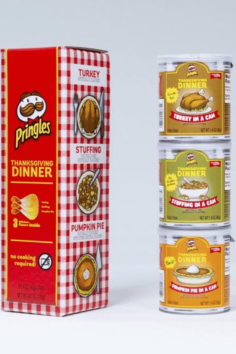 Pringles edición del Día de Acción de Gracias