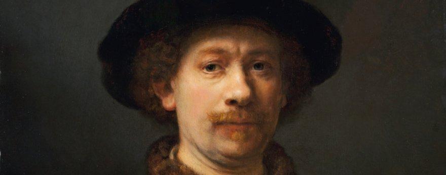 Rembrandt muestra sus huellas en boceto al óleo