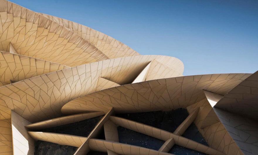 Acercamiento a la construcción del Museo Nacional de Qatar