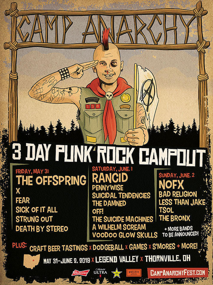 Cartel Camp Anarchy Fest