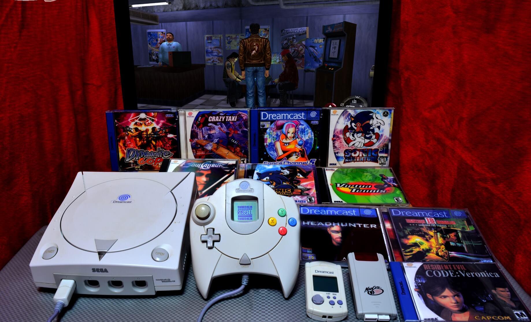 Dreamcast 20 aniversario