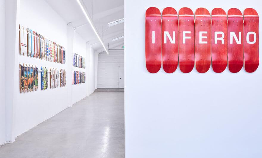 Foto de la Exposición Inferno de Supreme
