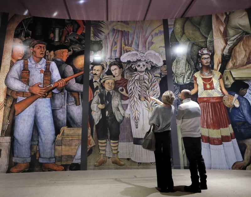 Exposición en Sala Manezh