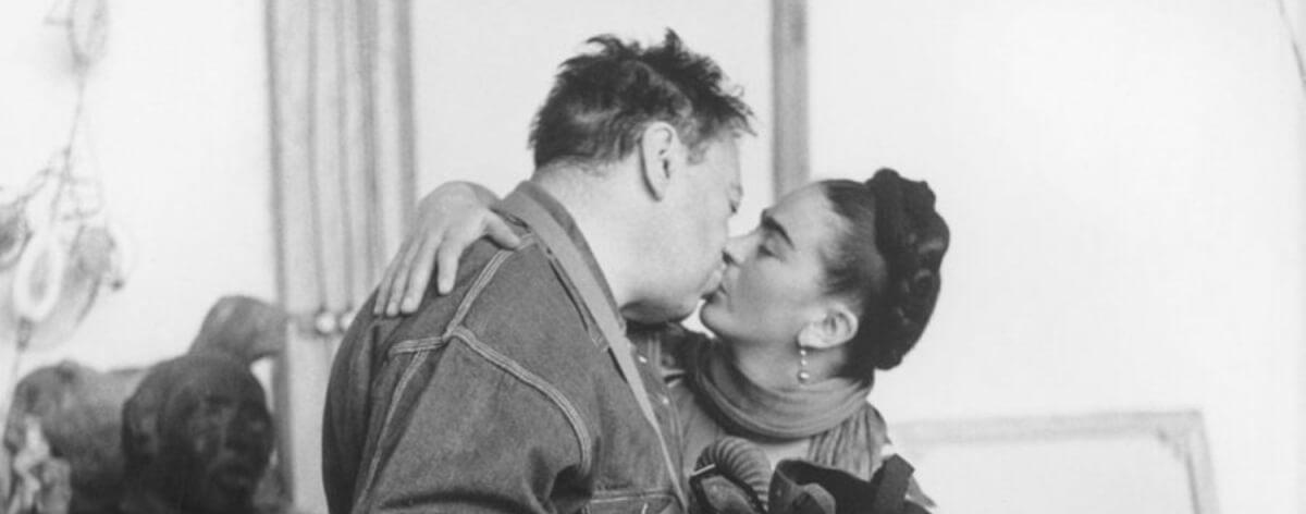 Frida Kahlo y Diego Rivera llegan a Rusia