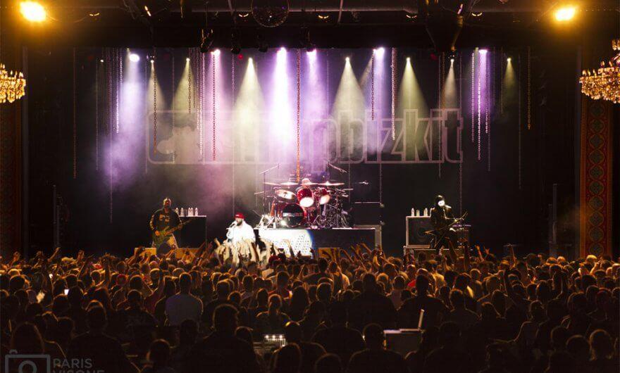 Fotografía de concierto de Limp Bizkit