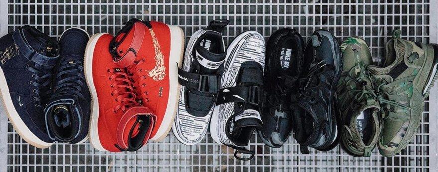 Maharishi lanza colaboración con Nike Air Force 1