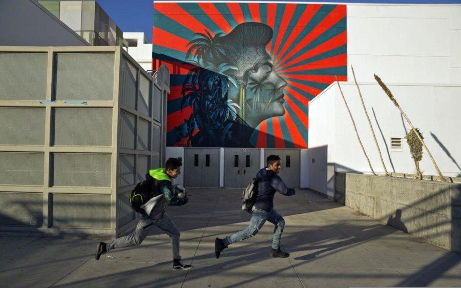 Mural de Ava Gardner de Stanton en Los Ángeles