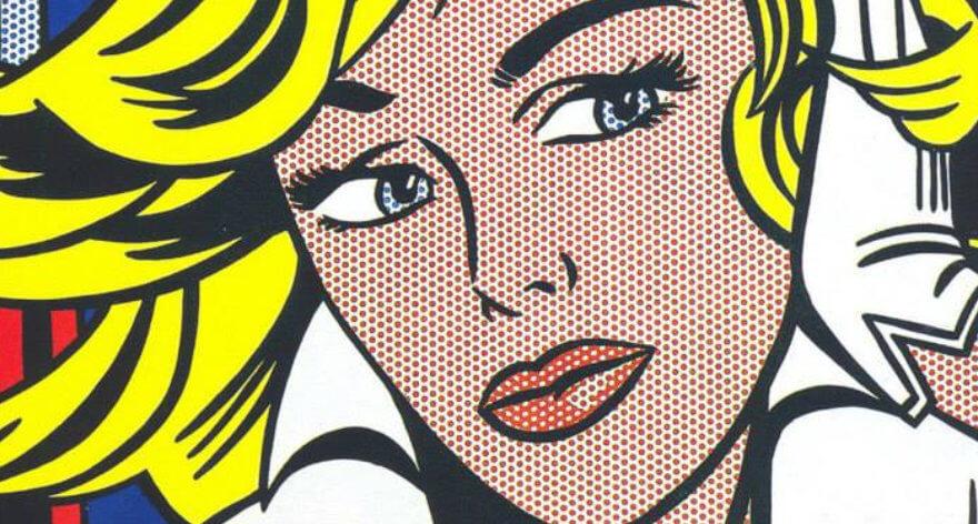Roy Lichtenstein y su arte pop se exponen en Madrid
