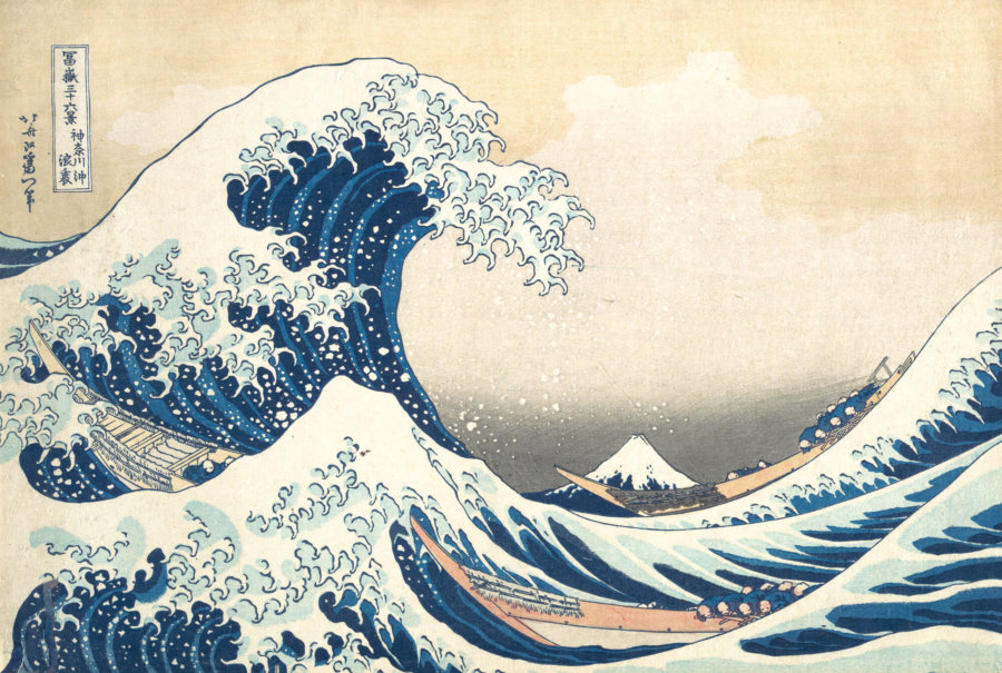 Obra Under the Wave off Kanagawa