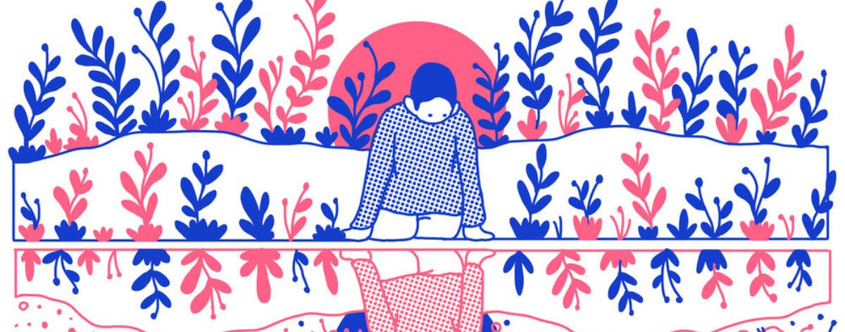 Ilustraciones introspectivas del artista Evan M. Cohen