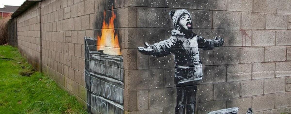 Port Talbot amanece con un nuevo Banksy