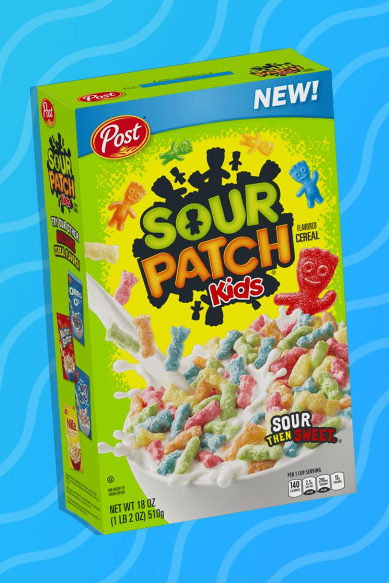 Sour Patch Kids lanza su propio cereal