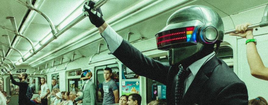 Taft Plunk el dúo que rinde tributo a Daft Punk