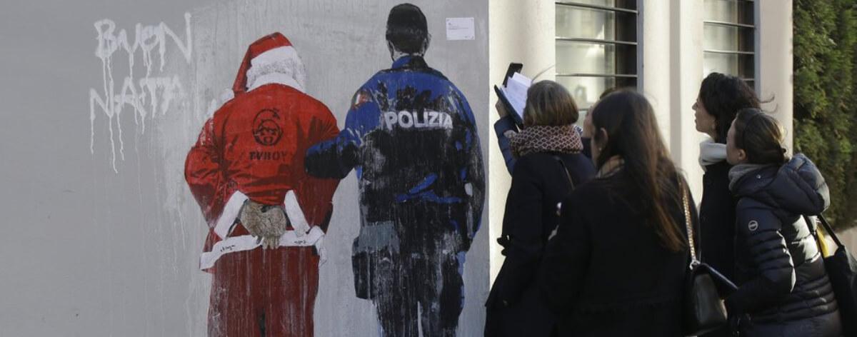 Tvboy el artista urbano censurado en Italia