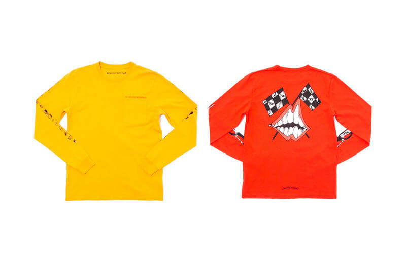 Sudaderas de Virgil Abloh y Chrome Hearts