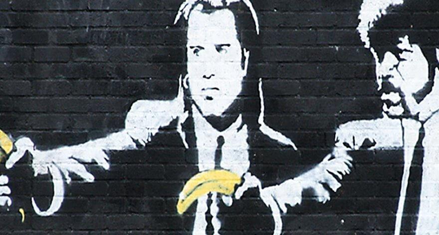 Las cinco películas más representadas en murales