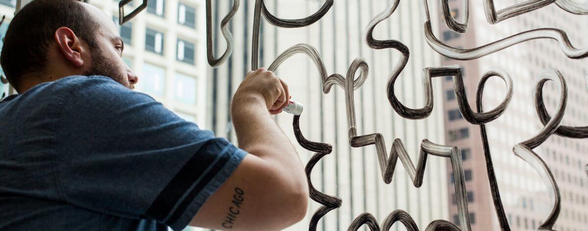 Chad Kouri y el minimalismo de su arte
