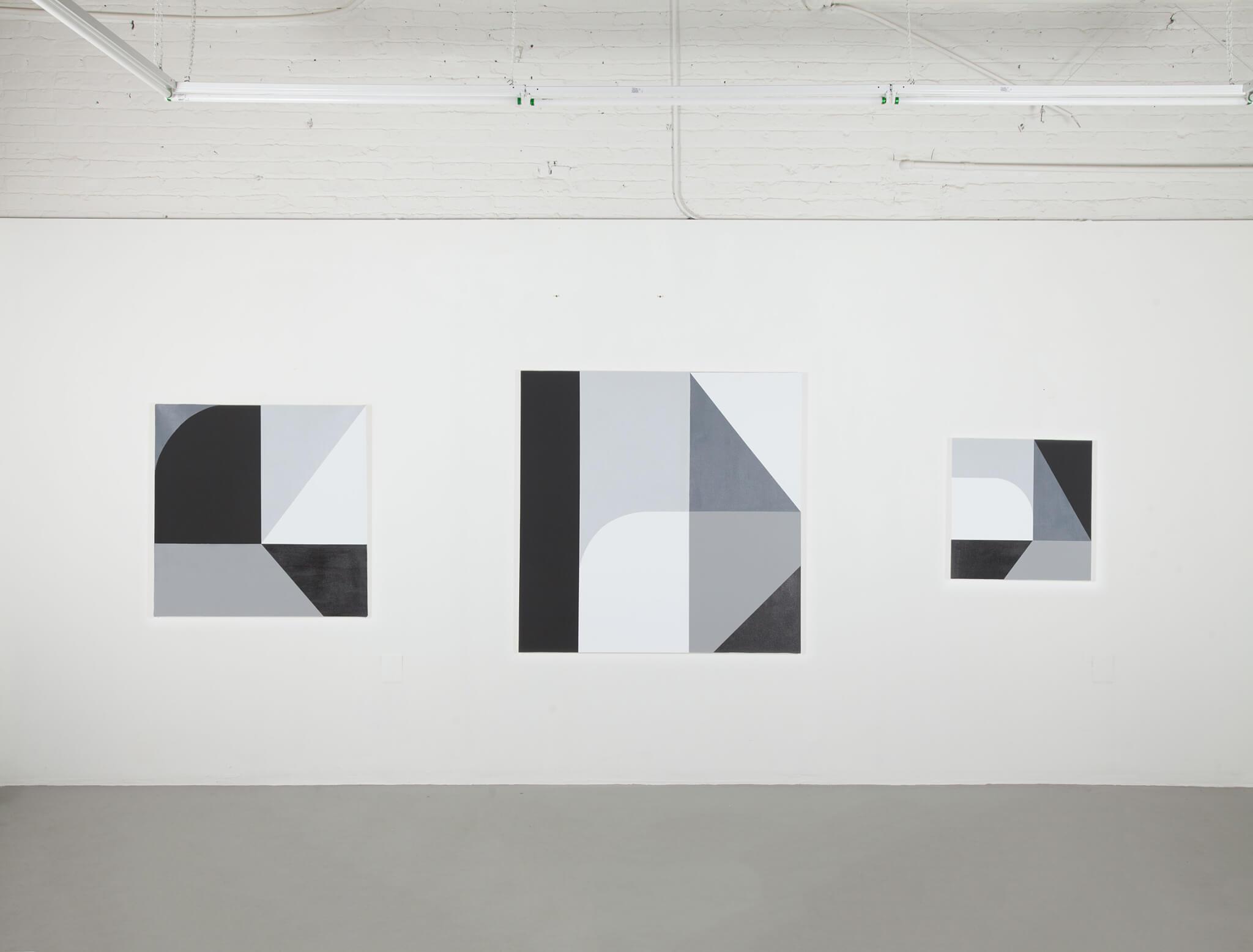 Pintura de Chad en grises