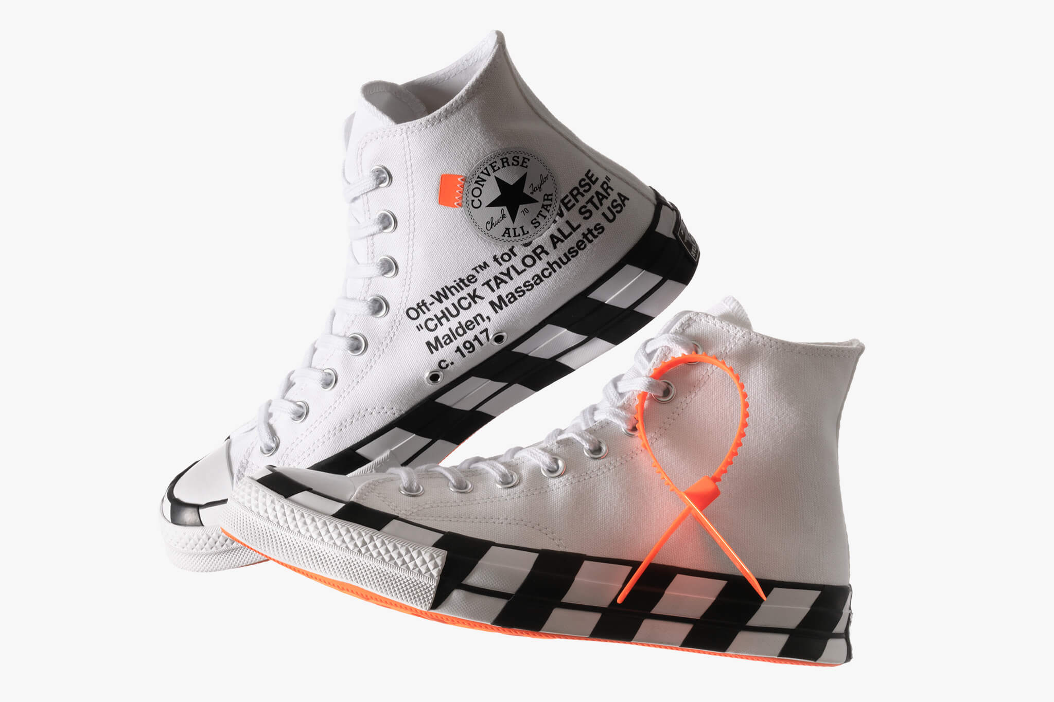 Converse blancos Off-White