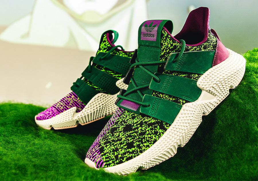 Adidas verde y morado Cell