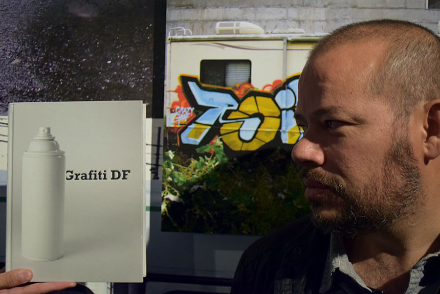 Carlos Broissin, autor de Grafiti DF