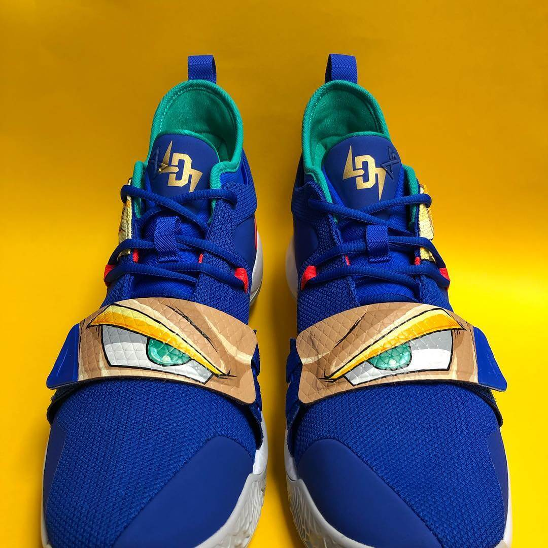 Zapatillas de Dragon ball de Luca Doncic