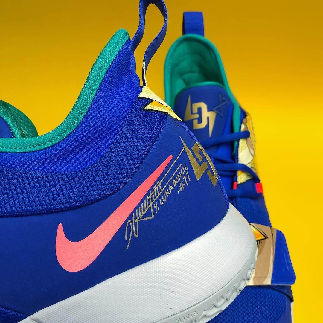 Zapatillas de Dragon ball de Luca Doncic