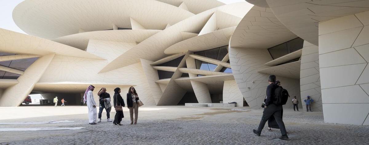 Museo Nacional de Qatar por fin abre sus puertas